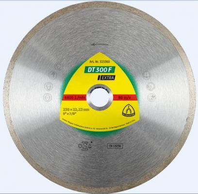 Круг алм. KLINGSPOR DT 300 F EXTRA 125 X 1.6 X 22 (325358) корона клт klingspor smt 324 extra 125 x 22 p80 321650 прямой по стали