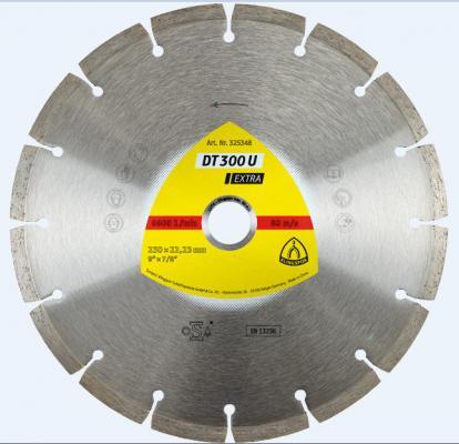 Круг алм. KLINGSPOR DT 300 U EXTRA 230 X 2.2 X 22 (325348) сегментный