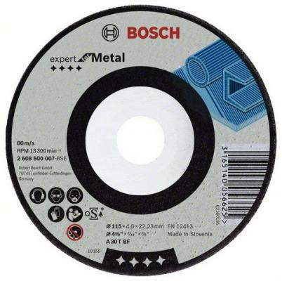 Круг зачистной BOSCH Expert for Metal 180x6x22 (2.608.600.315) 180 Х 6 Х 22, по металлу цена