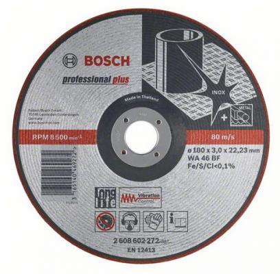 Круг зачистной BOSCH Vibration Control 125x3x22 (2.608.602.218) 125 Х 3 Х 22, по металлу