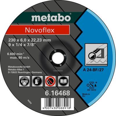 Круг обдирочный METABO 616460000 сталь Novoflex 115x6.0мм А30
