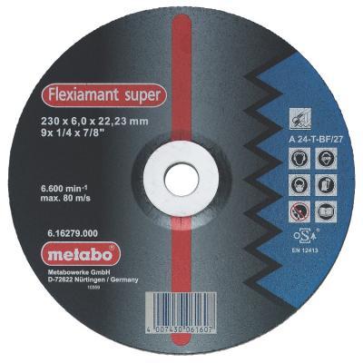 Круг обдирочный METABO 617137000 сталь Novoflex SP150x6.0x22.23мм