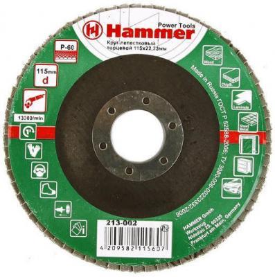 Лепестковый круг 115 Х 22 Р 60 тип 1 КЛТ Hammer Flex 213-002 Круг лепестковый торцевой nowodvorski настенный светодиодный светильник nowodvorski oslo 9634