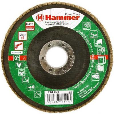 125 Х 22 Р 120 тип 1 КЛТ Hammer Flex 213-005 Круг лепестковый торцевой 125 х 22 р 80 тип 1 клт hammer flex 213 009 круг лепестковый торцевой