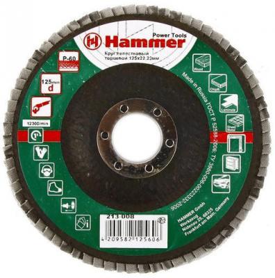 125 Х 22 Р 60 тип 1 КЛТ Hammer Flex 213-008 Круг лепестковый торцевой 125 х 22 р 80 тип 1 клт hammer flex 213 009 круг лепестковый торцевой