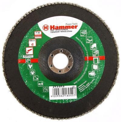 Лепестковый круг 180 Х 22 Р 40 тип 1 КЛТ Hammer Flex 213-013 Круг лепестковый торцевой 125 х 22 р 60 тип 1 клт hammer flex 213 008 круг лепестковый торцевой