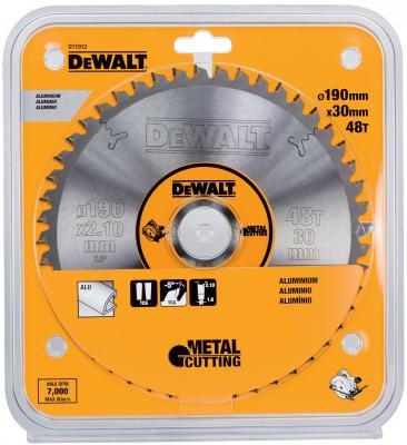 Круг пильный твердосплавный DEWALT DT1912-QZ Ф190/3048 TCG -5° EXTREME по алюминию круг пильный твердосплавный cmt 296 190 64m 190x30x2 8 2 2 6° tcg z 64