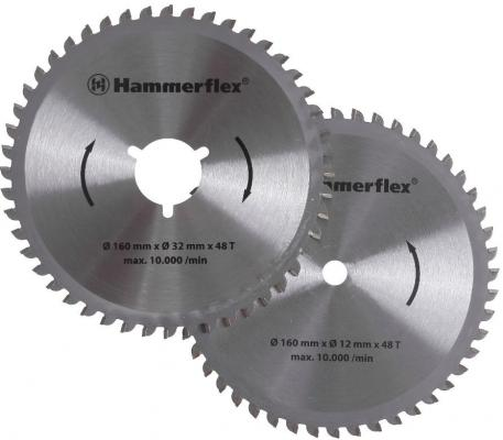 Набор дисков Hammer Flex 206-161 для пилы универсальной, двухдисковой Hammer Flex CRP1500
