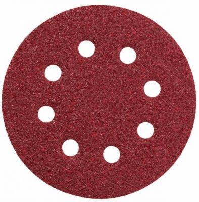 Круг шлифовальный KWB 4919-12 6 шлифкруг 125/к120 для эксц. шл. маш. круг шлиф самосцепляющийся kwb 115мм