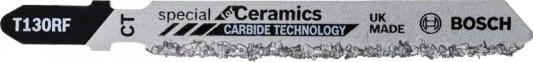 Пилка для лобзика BOSCH T130 Riff (2.608.633.104) керамика, 83мм, напыление HM 30, 3шт dell t130 affs 001