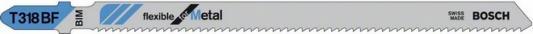 Пилка для лобзика BOSCH T318BF (2.608.634.242) металл, 132мм, шаг 1.8, BiM, 5шт LongLife quwind 11 13 15 inch 6 colors ultrabook netbook protector sleeve carrying case cover bag for macbook air pro surface ipad