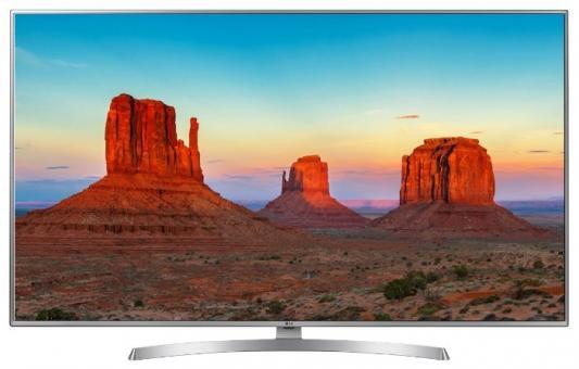 Телевизор LG 50UK6510PLB серебристый черный телевизор lg 43uj651v серебристый