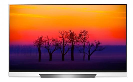 Плазменный телевизор LG OLED55E8PLA черный плазменный телевизор lg 55se3b b