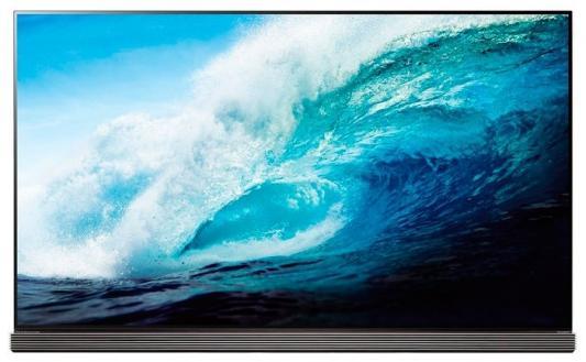 Телевизор LG OLED65G7V серебристый черный телевизор lg oled65g7v