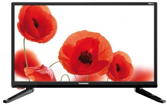 Телевизор Telefunken TF-LED19S43T2 черный телевизор telefunken tf led19s14t2 черный