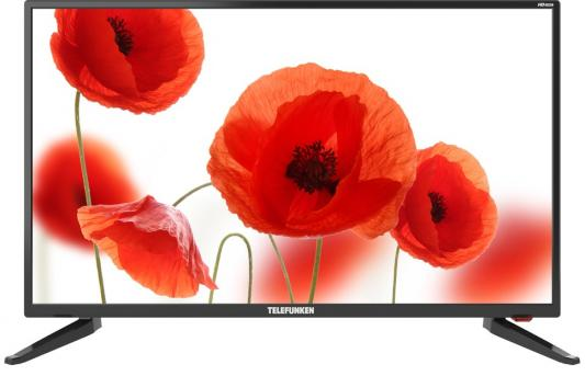 Телевизор Telefunken TF-LED32S65T2 черный цена и фото