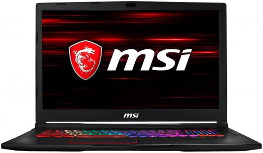 Ноутбук MSI GE73 8RE-097RU Raider RGB Edition (9S7-17C512-097) msi ge63 8re 211xru raider rgb edition black