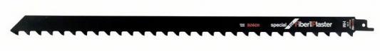 Полотно для сабельной пилы BOSCH S 2041 HM (2.608.650.975) кирпич/стеклопластик, 400мм, HM, 2зуб/дю полотно для сабельной пилы bosch 300 мм для gsg 300 2 607 018 012