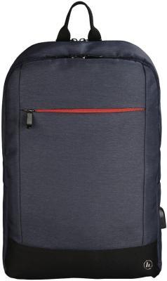 Рюкзак для ноутбука 15.6 HAMA Manchester полиэстер синий 00101826