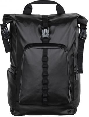 Рюкзак для ноутбука 15.6 HAMA Roll-Top полиуретан черный 00101817 рюкзак hama sweet owl pink blue