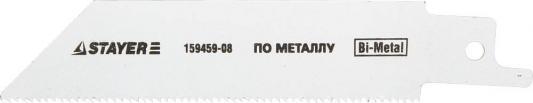 Полотно для сабельной пилы STAYER PROFI S522EF BiMet тонколистовой профильный металл полотно для сабельной пилы stayer profi s922ef