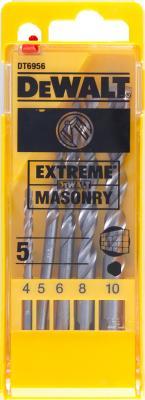 цена на Набор сверл DeWALT DT6956-QZ по бетону/кирпичу/камню EXTREME DeWALT® (5шт.) в пластиковой кассете