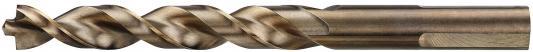 Сверло DEWALT DT4941-QZ Ф9.5х125х78мм по металлу INDUSTRIAL COBALT 8% 10шт сверло по металлу cobalt 8% 7х109х66 мм dewalt dt4911