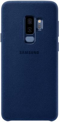Чехол (клип-кейс) Samsung для Samsung Galaxy S9+ Alcantara Cover синий (EF-XG965ALEGRU) чехол клип кейс samsung alcantara cover great для samsung galaxy note 8 хаки [ef xn950akegru]