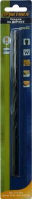 Сверло по дереву ПРАКТИКА 775-594 6х200мм, удлиненное, серия Профи сверло по дереву fit 24х460мм профи 36324