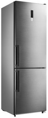 Холодильник SHIVAKI BMR-1883DNFX серебристый холодильник shivaki bmr 2013dnfw белый серебристый