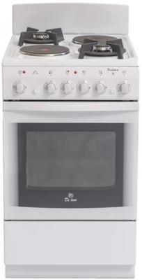 Комбинированная плита De Luxe 506022.04ГЭ белый цены онлайн