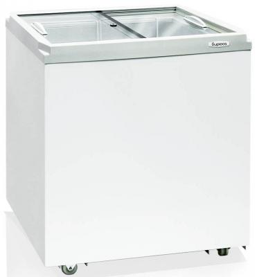 Морозильный ларь Бирюса Б-200VZ белый морозильный ларь kraft bd w 350qx белый