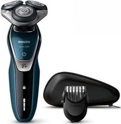 лучшая цена Бритва Philips S5672/41 чёрный синий