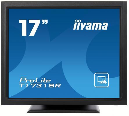 Монитор 17 iiYama T1731SR-B1 монитор iiyama xub3490wqsu b1 черный