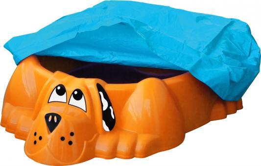 Бассейн - Собачка с покрытием (оранжевый)