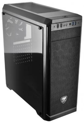 Корпус ATX Cougar MX330-G Без БП чёрный корпус atx deepcool dukase v2 без бп чёрный