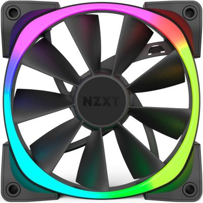 Вентилятор NZXT Aer RGB 140 RF-AR140-B1 140x140x25mm 500-1500rpm mini 6a rgb led rf remote controller
