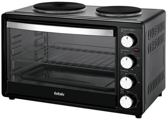 Мини-печь BBK OE3071M-2P чёрный цена и фото