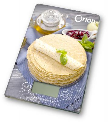 Весы кухонные Orion ВБК-СП03-5КГ рисунок цена и фото
