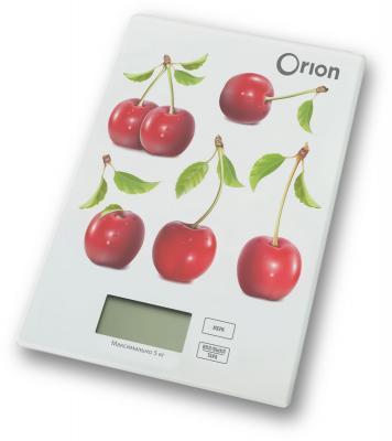 Весы кухонные Orion ВБК-СП04-5КГ рисунок цена и фото
