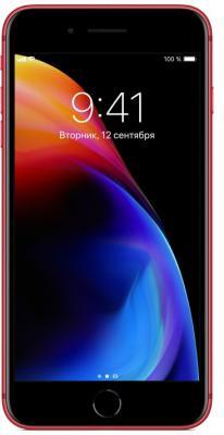 Смартфон Apple iPhone 8 Plus красный 5.5 64 Гб NFC LTE Wi-Fi GPS 3G MRT92RU/A iphone 5 64 гб черный