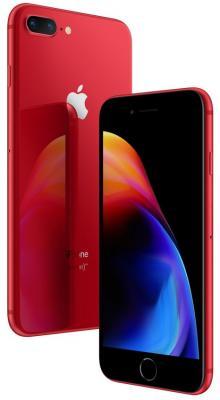 Смартфон Apple iPhone 8 Plus 256 Гб красный MRTA2RU/A смартфон apple iphone x 64 гб серебристый mqad2ru a