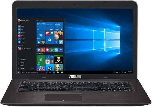Ноутбук ASUS VivoBook X756UQ-T4453T 17.3 1920x1080 Intel Core i3-7100U лениздат 978 5 4453 0759 4