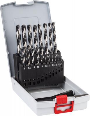 Набор сверел Bosch HSS PointTeQ 19шт 2608577351 набор бит и сверел bosch x line titanium 2607019329