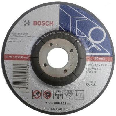 Отрезной круг Bosch 125х2.5мм 2608600221