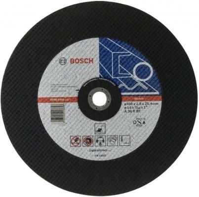 Отрезной круг Bosch 355х2.8х25.4мм 2608600543
