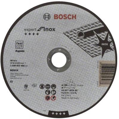 Отрезной круг Bosch 180x1.6мм 2608603406