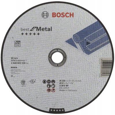 Отрезной круг Bosch 230x2.5мм 2608603530