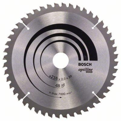 Пильный диск Bosch STD WO 216x30-48T 2608640432 new original 28point npn input 20point transistor output xc2 48t e plc dc24v cable