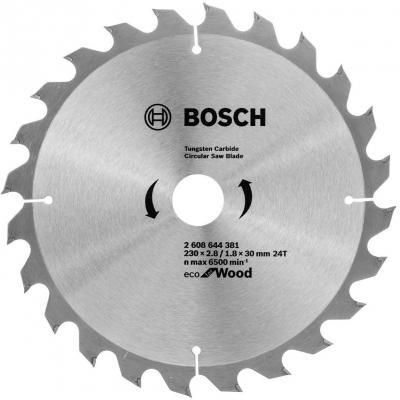 Пильный диск Bosch ECO WO 230x30-24T 2608644381